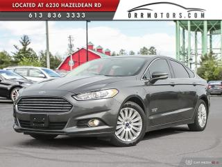 Used 2016 Ford Fusion Energi SE Luxury ELECTRIC HYBRID COMBO! for sale in Stittsville, ON