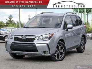 Used 2016 Subaru Forester 2.0XT Touring AWD | REVERSE CAM | PANO ROOF | HEATED SEATS for sale in Stittsville, ON