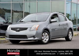 Used 2010 Nissan Sentra 2.0L AUTO BAS KM CRUISE AC AUTO BAS KM for sale in Lachine, QC