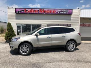 Used 2015 Chevrolet Traverse 1LT LT GREAT BUY for sale in Tilbury, ON