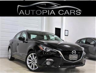 Used 2016 Mazda MAZDA3 AUTOMATIC GT HEADS UP DISPLAY NAVI REAR VIEW ALLOY for sale in North York, ON