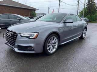 Used 2016 Audi A5 Premium, AUTO, SUNROOF, POWER GROUP, 34 KM for sale in Ottawa, ON