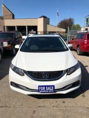 Used 2015 Honda Civic Sedan EX for sale in Winnipeg, MB