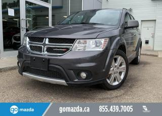 Used 2015 Dodge Journey R/T - AWD. REMOTE START, HEATED SEATS AND WHEEL, BLUETOOTH, LEATHER AND MUCH MORE! for sale in Edmonton, AB