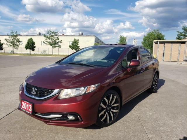 2013 Honda Civic Touring, Auto, 4 Door, 3/Y warranty available.