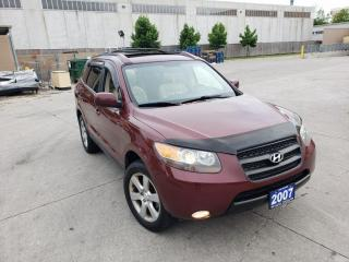 Used 2007 Hyundai Santa Fe Leather, Sunroof, 3/Y Warranty available. for sale in Toronto, ON
