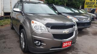 Used 2012 Chevrolet Equinox 2LT-LEATHER-SUNROOF-BK UP CAM-BLUETOOTH-ALLOYS for sale in Scarborough, ON