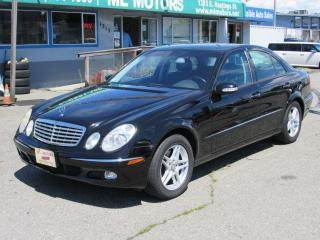 Used 2004 Mercedes-Benz E-Class 3.2L for sale in Vancouver, BC