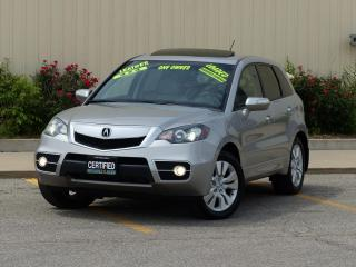 Used 2010 Acura RDX SH-AWD,TURBO,FULLY LOADED,LEATHER,REAR-CAM,1-OWNER for sale in Mississauga, ON