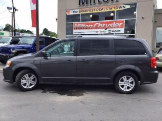 Used 2019 Dodge Grand Caravan CREW LEATHER NAVIGATION POWER DORS DVD for sale in Milton, ON