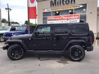 Used 2014 Jeep Wrangler UNLIMITED SAHARA 4X4|6 SPEED|LEATHER|NAVIGATION|TR for sale in Milton, ON