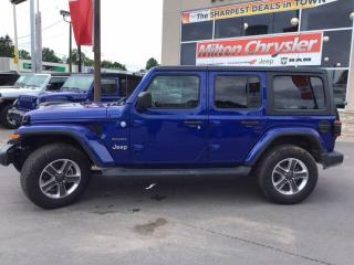 Used 2019 Jeep Wrangler Unlimited Sahara 4X4 for sale in Milton, ON