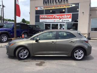 Used 2019 Toyota Corolla SE BACK UP CAMERA HEATED SEATS WHEELS for sale in Milton, ON