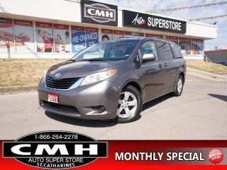 Used 2011 Toyota Sienna LE  V6 CAM P/SEAT BT 8-PASS PWR-DOORS for sale in St. Catharines, ON