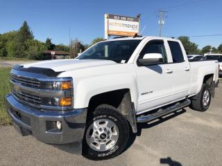 Used 2016 Chevrolet Silverado 2500 HD LT With Pwr Seat, AutoStart, BackupCam, Bluetooth, Integrated Trailer Brake, Dual Zone Air, Pwr Windows for sale in Kemptville, ON