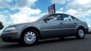 Used 2002 Volkswagen Passat GLS for sale in Brandon, MB