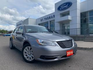 Used 2014 Chrysler 200 LX for sale in St Thomas, ON