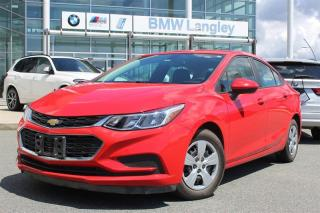 Used 2016 Chevrolet Cruze LS - 6AT for sale in Langley, BC