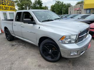 Used 2012 RAM 1500 SLT/ QUAD CAB/ 4X4/ ALLOYS/ BLUETOOH & MORE! for sale in Scarborough, ON