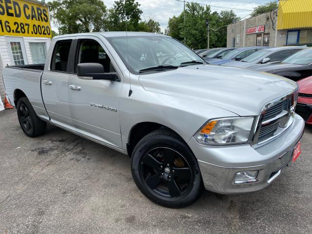 2012 RAM 1500 SLT/ QUAD CAB/ 4X4/ ALLOYS/ BLUETOOH & MORE!