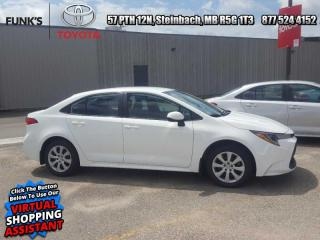 New 2020 Toyota Corolla LE  Includes Michelin X-ICE snow tires (4) $812 value for sale in Steinbach, MB