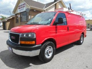 Used 2014 GMC Savana CARGO 2500HD Ladder Rack Divider Shelving 154,000K for sale in Etobicoke, ON