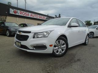 Used 2016 Chevrolet Cruze LT NO ACCIDENT LOW KM SAFETY B-TOOTH B-CAMERA GAS for sale in Oakville, ON