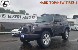 Used 2014 Jeep Wrangler Sport/HARD TOP/NEW TIRES!! for sale in Barrie, ON