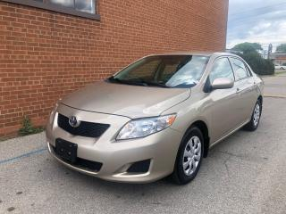 Used 2010 Toyota Corolla CE/SAFET&WARRANTY INCLUDED for sale in Oakville, ON