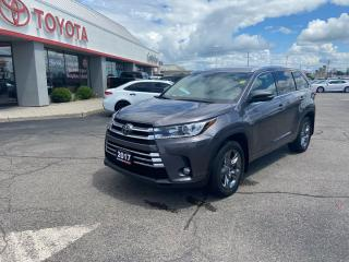 Used 2017 Toyota Highlander LIMITED  for sale in Cambridge, ON