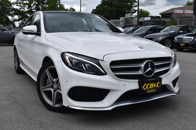 2017 Mercedes-Benz C-Class C 300 4 MATIC - NO ACCIDENTS