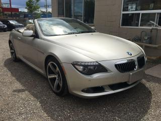 Used 2008 BMW 6 Series 650i for sale in Waterloo, ON