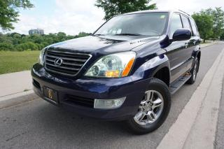 Used 2008 Lexus GX 470 RARE / ULTRA PREMIUM / NO ACCIDENTS / STUNNING SUV for sale in Etobicoke, ON