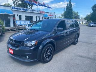 Used 2014 Dodge Grand Caravan SXT-Blacktop Edition-DVD-Rear view camera for sale in Stoney Creek, ON