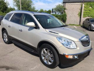 Used 2009 Buick Enclave CXL ** AWD, BACKUP CAM, AUTOSTART , HTD LEATH  ** for sale in St Catharines, ON