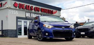 Used 2015 Toyota Corolla S for sale in Oakville, ON