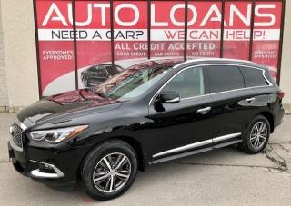 Used 2019 Infiniti QX60 PURE-CREDIT ACCEPTED for sale in Scarborough, ON