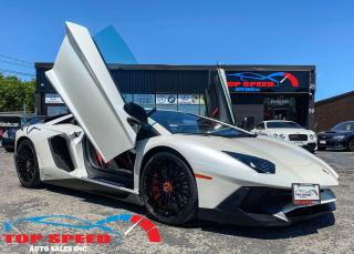 Used 2016 Lamborghini Aventador SV | LP 750-4 SV | ALCANTARA | CARBON | CORSA MODE for sale in Richmond Hill, ON