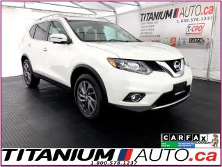 Used 2016 Nissan Rogue SL+AWD+GPS+360 Camera+Pano Roof+Leather+Blind Spot for sale in London, ON