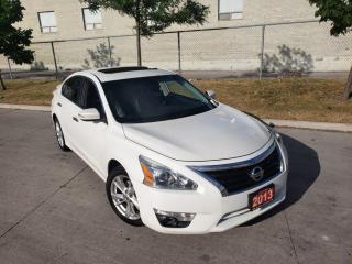 Used 2013 Nissan Altima 2.5 SV, Auto, Navi, Leather, Warranty availab for sale in Toronto, ON