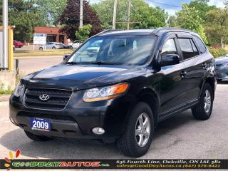 Used 2009 Hyundai Santa Fe GL|LOW KM|NO ACCIDENT|AWD|HEATED SEATS|CERTIFIED for sale in Oakville, ON