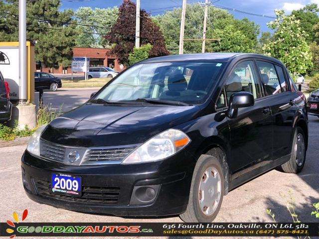 2009 Nissan Versa 1.8 S|LOW KM|NO ACCIDENT|EXT.6 MNT WRNTY|CERTIFIED