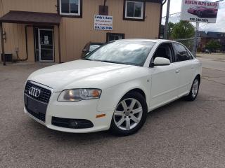 Used 2007 Audi A4 S-LINE Quattro for sale in Kitchener, ON