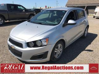 Used 2013 Chevrolet Sonic LT 5D Hatchback AT 1.8L for sale in Calgary, AB