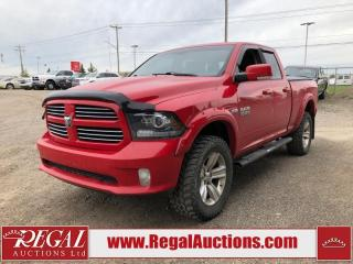 Used 2013 RAM 1500 Sport 4D Quad CAB SWB 4WD for sale in Calgary, AB