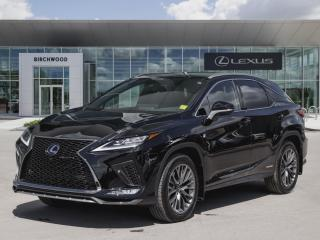 New 2020 Lexus RX 450h F Sport Series 3 for sale in Winnipeg, MB