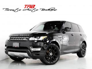 Used 2016 Land Rover Range Rover Sport HSE I DIESEL I PANO I NAVI 20 INCH WHEELS for sale in Vaughan, ON