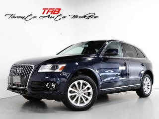 Used 2013 Audi Q5 2.0T PREMIUM PLUS I NAVI I PANO I LOCAL VEHICLE for sale in Vaughan, ON