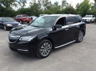 Used 2016 Acura MDX SH-AWD - Nav Pkg - LEATHER - SUNROOF! for sale in Ottawa, ON