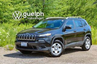 Used 2016 Jeep Cherokee Sport 4x4, Remote Start, Cold Weather Pkg for sale in Guelph, ON